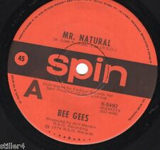 THE BEE GEES Mr.Natural  *AUSTRALIA ORIGINAL 70s SPIN RECORDS SINGLE*
