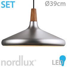 FLOAT 39 LED Edelstahl von NORDLUX Pedelleuchte Hängeleuchte Lampe Walnuss