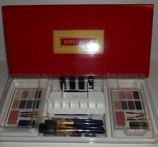 Vintage Estee Lauder Artist's Box Makeup Organizer New Old Stock In Box W Makeup
