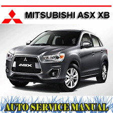 MITSUBISHI ASX XB 2WD 4WD 2012-2014 WORKSHOP SERVICE REPAIR MANUAL ~ DVD