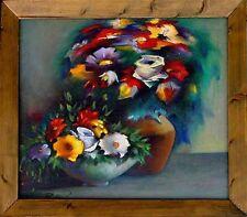 Russischer Künstler Pashkov Pavel, Stillleben mit Vase und Schale Wandbild xxx