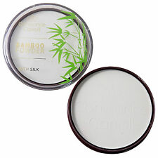 Constance Carroll Bamboo Powder with Silk ~ White Transparent Mattifying Compact