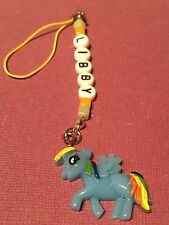 MY LITTLE PONY PERSONALISED Charm BAG /PHONE CHARMS party BAG gift Rainbow