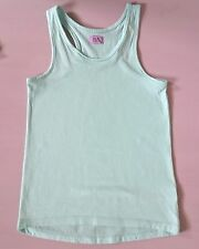 7-8 years girls childrens clothes - green vest top
