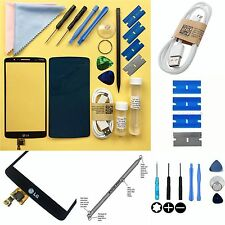 BLACK Replacement DIGITIZER Genuine TOUCH SCREEN / Glass Repair Kit For LG G3