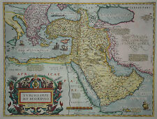Turcici Imperii Descriptio - Türkei - Abraham Ortelius - Original 1579 - Turkey