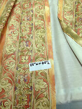 Curtains for Static Caravan or house, 25W x 45L  lined cotton print
