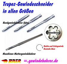 Trapezgewindebohrer TR12x3 Trapezgewinde  Handgewindebohrer-Satz 3-teilig