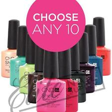 CND SHELLAC UV Color 7.3ml - Any 10: Colours, Base or Top Coats + FREE SolarOil