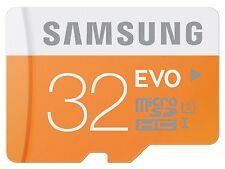 Samsung 32GB EVO 48MB Class 10 Micro SD Karte