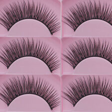New 5 Pairs Natural Cross Eye Lashes Extension Makeup Long False Eyelashes Set