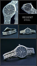 REGENT SPORTY & ELEGANT WOMEN WATCH STAINLESS STEEL 5 BAR WATERPROOF