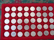 Gepflegte Sammlung 5 DM Silber, 1951-1974, Schnäppchen