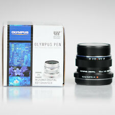Olympus M. Zuiko Digital ED 12mm f/2.0 Lens Black New