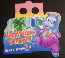"""Original Palettenanhänger """"Happy Hippo Company"""" Deutschland 1994 Serien"""