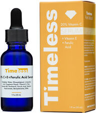 20% vitamin c serum + vitamin e + ferulic acid  1 oz (30 ml ) Timeless skin care