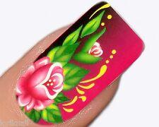Nail Art Wasser Tattoo Aufkleber für Nageldesign Sticker C025 Blumen Design