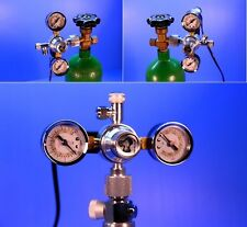 Aquarium Co2 Regulator Magnetic Valve - Adjustable Solenoid Water Plants Tank