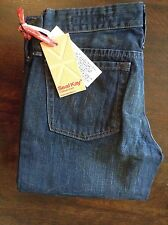 Seal Kay cropped womens blue jeans 25' 28L