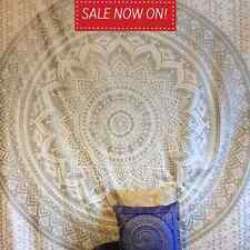 Large Ombre Mandala Tapestry Hippie Indian Wall Hanging Bedspread Bedding Throw