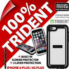 New Trident Cyclops White Protective Case Rugged for Apple iPhone 6 Plus/6S Plus