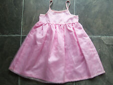 BNWT Baby Girl's Pink Party Summer Dress Size 0