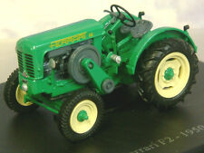SUPERB DETAILED U/H HACHETTE DIECAST 1/43 1950 FERRARI F2 TRACTOR IN GREEN TR16