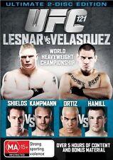UFC 121 Lesnar Vs Velasquez NEW/SEALED (DVD, 2011, 2-Disc Set) [Region 4]