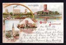 97863 AK Inowroclaw Inowrazlaw 1897 Litho Mäuse Turm Kruschwitz Kirche