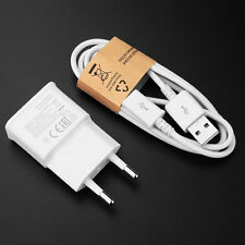 5V 2A EU Plug Wall Travel Chargers 1M USB Cable For Samsung Galaxy Phone S6 HTC!