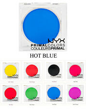 NYX Eyeshadow HOT BLUE PC03 Primal Colors Pressed Pigments Theatrical Makeup
