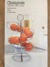 Orangen Spirale Obstkorb Metall Obstspirale Etagere Fruchtkorb Orangenspirale
