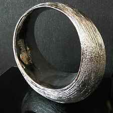 Etched Silver Ring Ceramic Sculpture Large Wedding Ring Sculpture Ornament Decor
