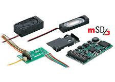 """Märklin H0 60975 SoundDecoder mSD3 / 21-polig """"für Dampfloks"""" NEU + OVP"""