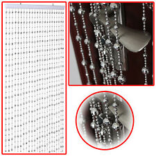 Stylish Silver Round Disco Beaded Ball Room Divider Home Décor Screen(SI-BC1001)