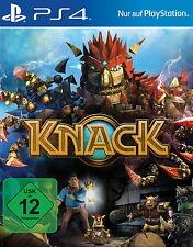 KNACK Komplett in Deutsch für Sony Playstation PS4 Spiel