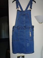 Blue Denim Dungaree Dress from TU size 16