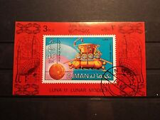 Briefmarken Block Welt Arabische Emirate Ajman Motiv Raumfahrt Stamps Space