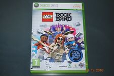Lego Rock Band Xbox 360 UK PAL **FREE UK POSTAGE**