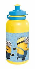 DESPICABLE ME MINIONS PLASTIC KIDS SPORTS DRINK WATER BOTTLE SCHOOL GIFT 400ml