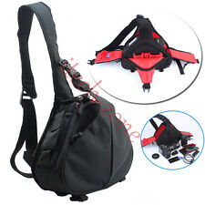 For Canon Nikon Sony DSLR SLR Digital Sling Camera Case Shoulder Bag Backpack UK