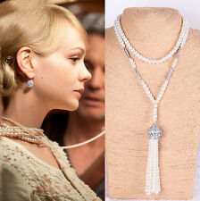 1920's Boho Flapper The Great Gatsby Fancy Accessory Necklace Bridal jewellery'