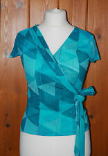 Monsoon, Ladies, Casual, Party,  Wrap, Top, size 8 *CLEARANCE*