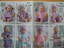 Knitting Patterns For Baby Annabell Free : Girls Doll Clothings Patterns eBay