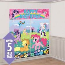 Party Supplies Girls Decoration Birthday My Little Pony Scene Setter  Kit