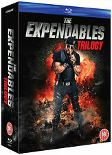 THE EXPENDABLES Complete Trilogy Movies 1 2 & 3 Collection Box Set NEW BLU-RAY