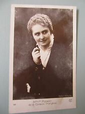 Antique French Lady postcard, Comedian Melle Pierat - unused