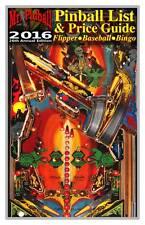 2016 Mr. Pinball Price Guide covers Pinball Machines, Baseball, Bingo, More NEW!