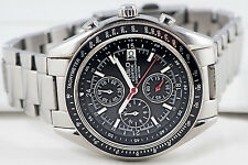 Casio EF-503D-1AV Edifice Mens Tachymeter Watch Stainless Steel Chronograph New