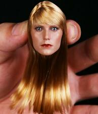 "1:6 Scale Gwyneth Paltrow Pepper Potts Head sculpt For 12"" female Action Figure"